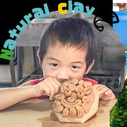 石垣島川平天然の山粘土を使っています