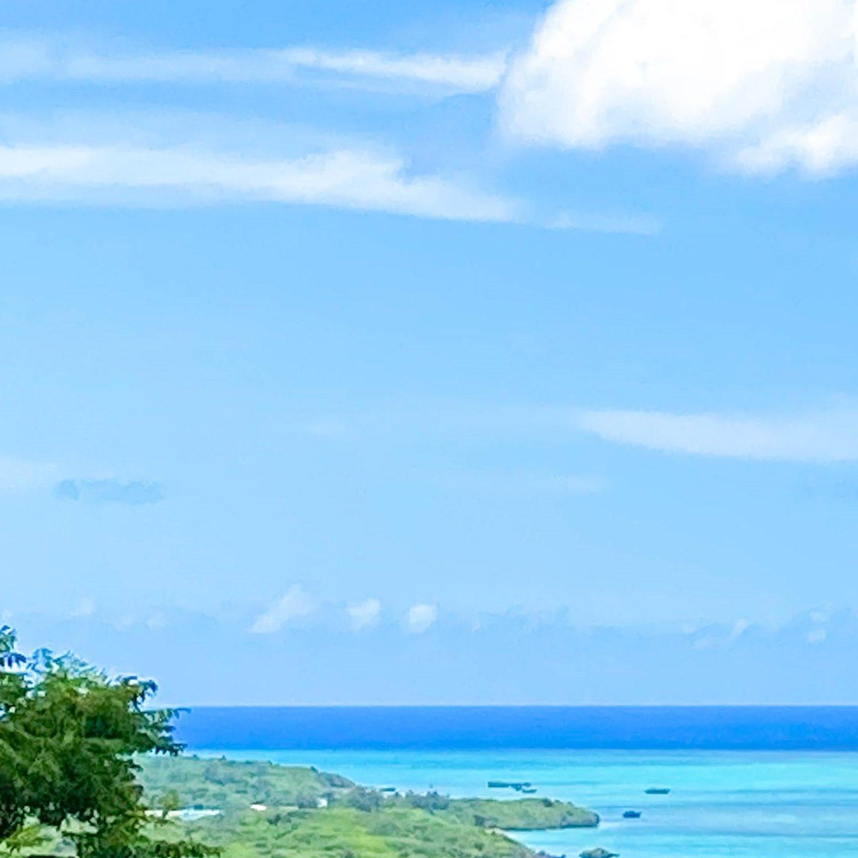 石垣島の絶景を眺めながらシーサー作り