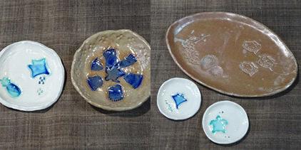 石垣島の天然の粘土で作る