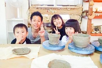陶芸体験ができる工房